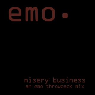 Misery Business: An Emo Throwback Mix
