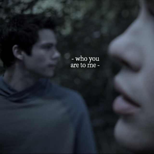 who you are to me