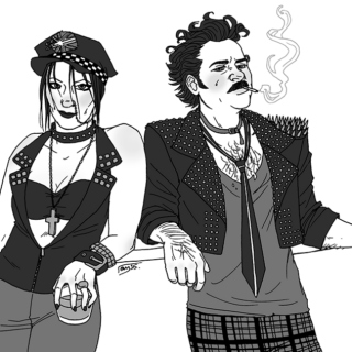 Don't Mess With Me(Punk!Doyles AU)