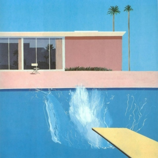 hockney's pool party