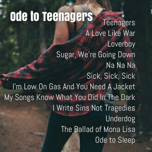 Ode to Teenagers
