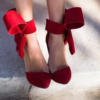 dancing in my red ribbon shoes