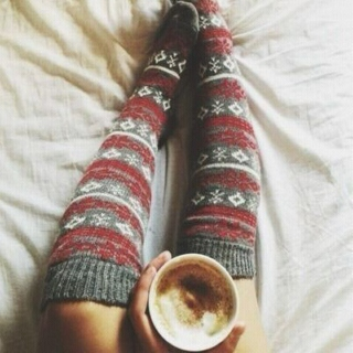 cold, cozy nights, warm blankets and hot chocolate