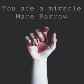 You are a miracle, Mare Barrow.