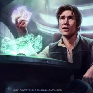 """""""It's the ship that made the Kessel Run in less than twelve parsecs."""""""