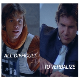 all difficult to verbalize