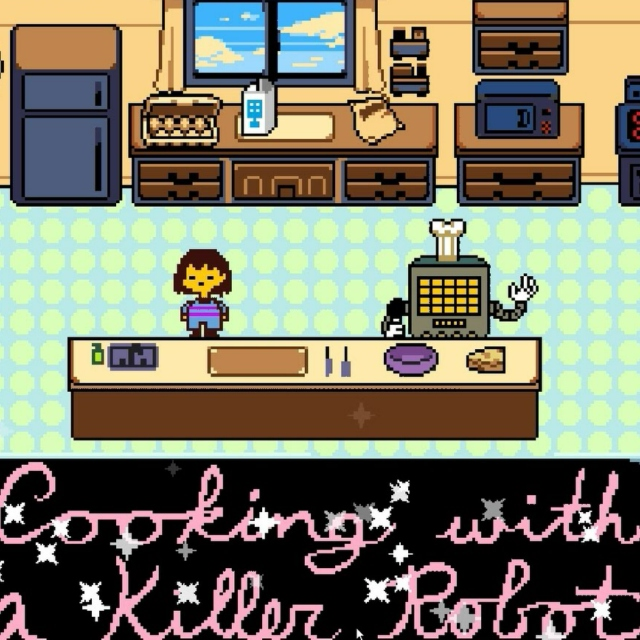 Cooking!! With!! a Killer!! ROBOT!!!!!!!!