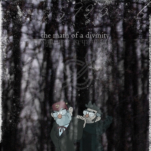 the math of a divinity.