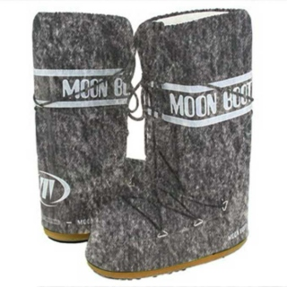 Acid Wash Moon Boots