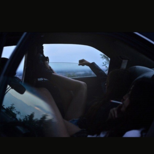 in the car with you