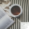 A Book, Hot Chocolate and A Good Playlist