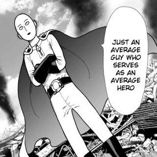 .. one punch hero!