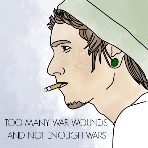 TOO MANY WAR WOUNDS