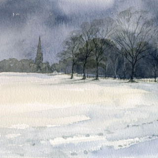 Cold and quiet
