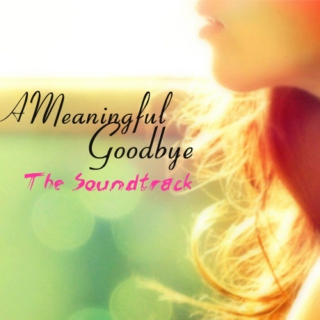 A Meaningful Goodbye ~ The Soundtrack