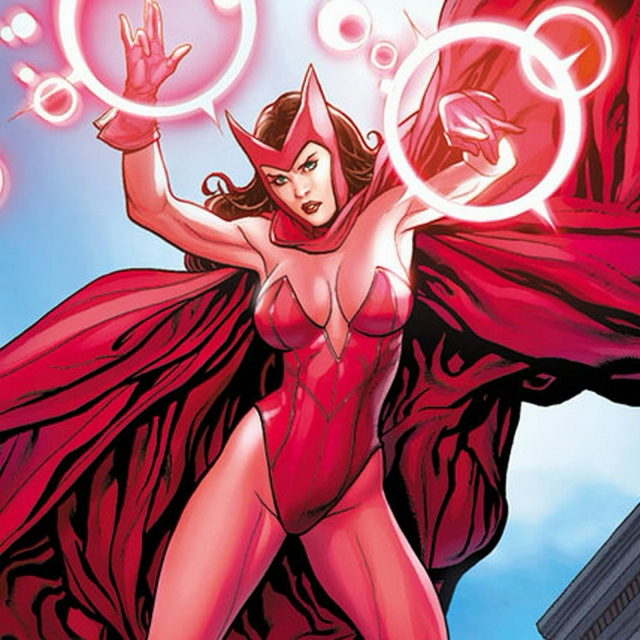 Scarlet Witch / Wanda Maximoff (BREATH OF LIFE)