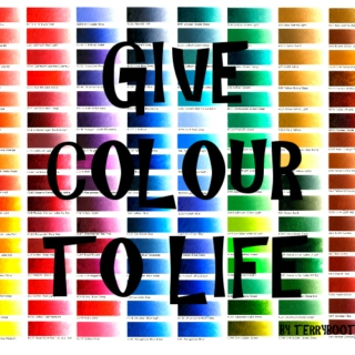 Give Colour To Life