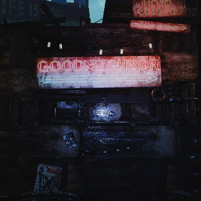You're in Goodneighbor now, baby.