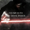 every single one of us, the devil inside