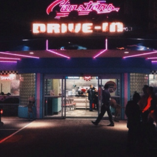 drive-in vibes