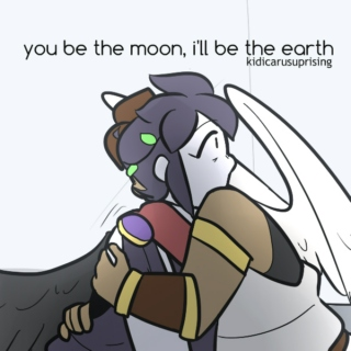 you be the moon, i'll be the earth // perdix arc inspired