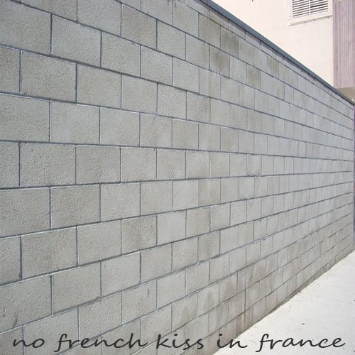 No French Kiss In France