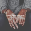 just the outlines of our hands. // I.