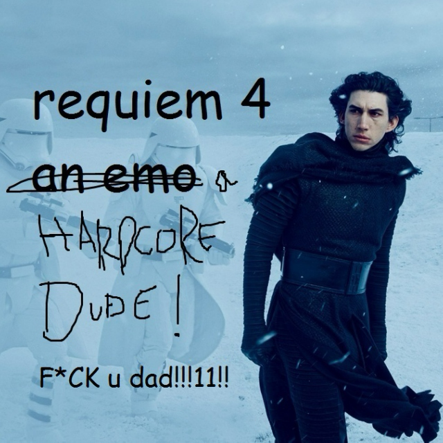 requiem 4 (an emo) a hardcore dude [An I hate my dad playlist]