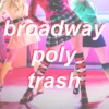 broadway poly trash