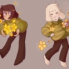 as pretty as a flower // an asriel playlist