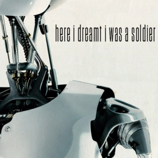 here i dreamt i was a soldier