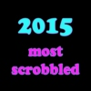 24+1* most scrobbled in 2015;