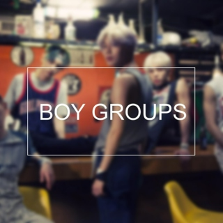 ↑100 of 2015: boy groups