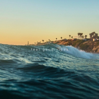 Surfing the waves of feel good vibes