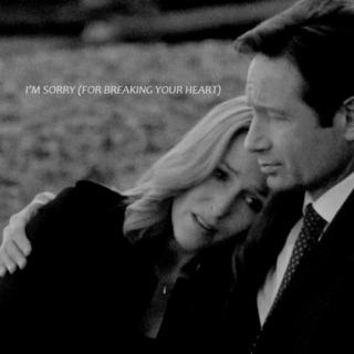 i'm sorry (for breaking your heart) | mulder + scully