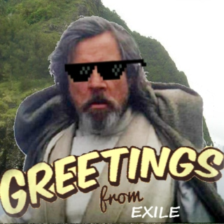 Greetings from exile
