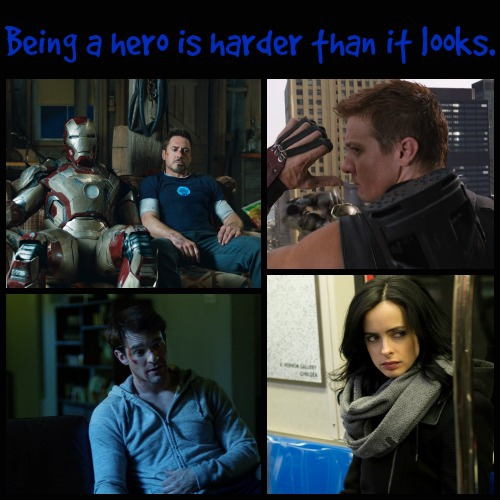 Being a hero is harder than it looks.