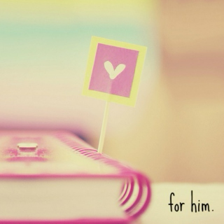 for him.