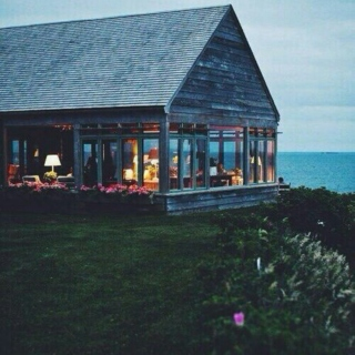 a house by the sea