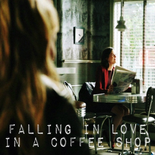 falling in love in a coffee shop
