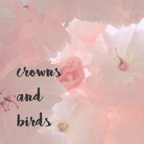 crowns and birds;