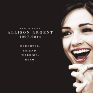 i am not fearless || allison argent mix