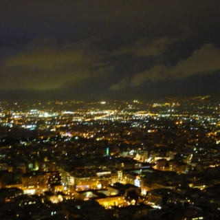 The hill, the view and the lights