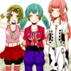 gumi, miku, and luka english :3