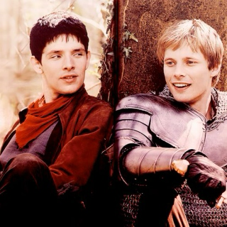 """I'm going to be by your side, protecting you"" - Merlin x Arthur"