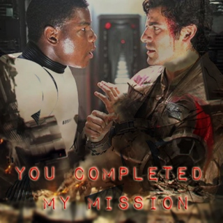 you completed my mission.