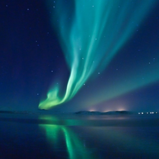 Aurora Borealis & What founts of light are breaking forth