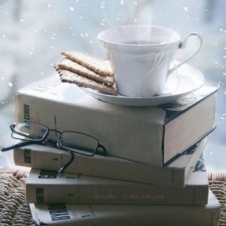 Snow, tea and a good book