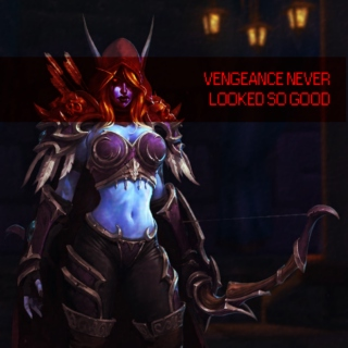 VENGEANCE NEVER LOOKED SO GOOD