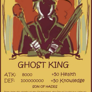 king of ghost, child of hades